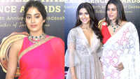 Saree-clad divas steals the show at Dadasaheb Phalke Awards 2019