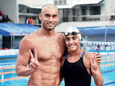 Virdhawal and Rujuta Khade, India's fastest swimmer couple, on staying true to the sport and each other