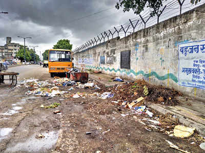 Garbage at Bopodi poses health hazards