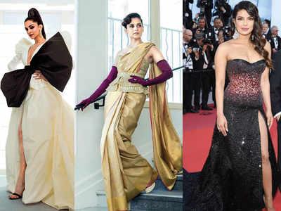 Deepika Padukone, Priyanka Chopra and Kangana Ranaut storm the Cannes red carpet
