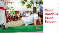 South sojourn: Five times Rahul Gandhi wowed people with his fitness