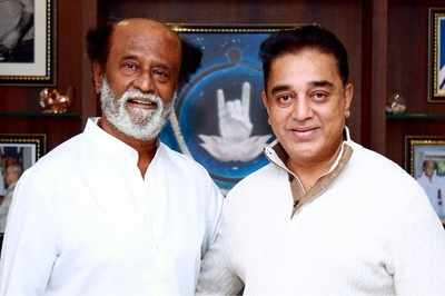 `As in movies, in politics too, our styles will be distinct,' says Rajinikanth on Kamal Haasan's entry in politics