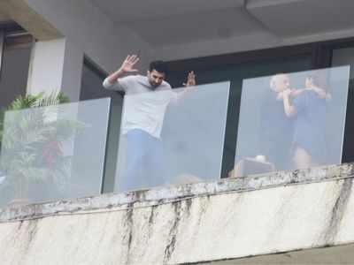 Photos: Alia Bhatt, Aditya Roy Kapur spotted shooting Sadak 2