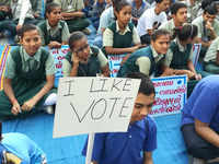 Rally with a difference: Over 100 persons with disabilities spread voter awareness