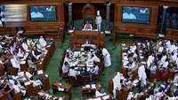 Winter session of parliament witnesses massive uproar