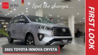 2021 Toyota Innova Crysta | Walkaround