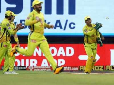 CSK out of last 4 race, a first in IPL