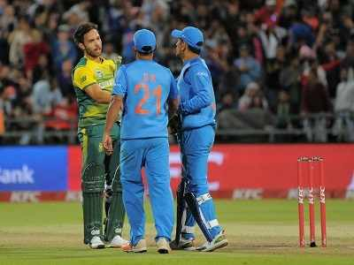 India vs South Africa series 3rd T20: Rohit Sharma-led Men In Blue defeat JP Duminy's Proteas by seven runs, win T20 series