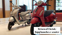 Bajaj e-scooter: 'Return of Chetak'