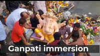 How Ganpati idols were immersed in Pune in wake of the tenth day