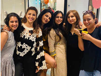 Priyanka Chopra Jonas, Parineeti Chopra party at Isha Ambani's home