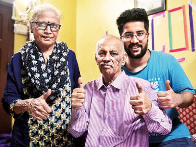 Not out at 64: After spending 35 days in ICU, a retired cricket scorer recovers from Covid-19