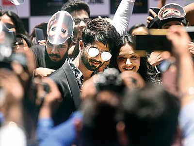 Spotted: Shahid Kapoor and Kiara Advani in Andheri