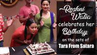 Roshni Walia celebrates her birthday on the sets of Tara From Satara