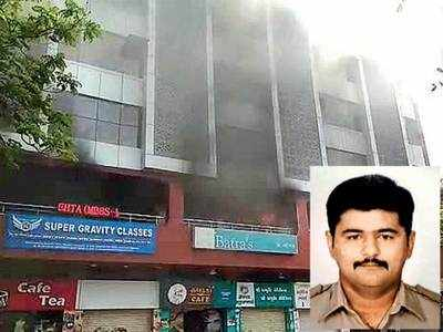 Fire: Constable turns hero for students