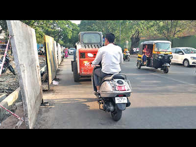 Fergusson College Road plagued by rash riders