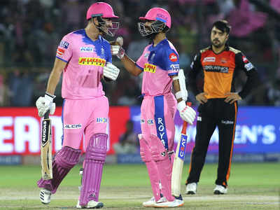 Rajasthan Royals beat Sunrisers Hyderabad by 7 wickets