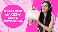 What's In My Make-up Bag Ft. Aditi Sharma |Exclusive| |Kaleerein|
