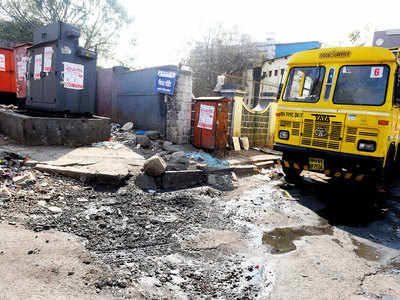 Swachh vs sach : Veil comes off as Survekshan ends,  garbage has piled up on the streets