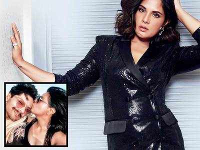 With their April wedding cancelled, Richa Chadha and Ali Fazal are making do with video calls to stay in touch