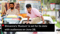 Shivarajkumar in cop mode for Rustum