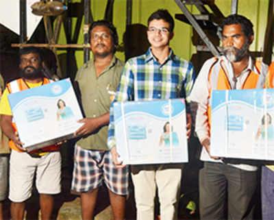 Bandra teen sets up a dozen water purifiers in BMC offices