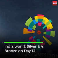 Asian Games Day 13 Highlights