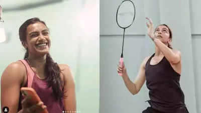 Deepika Padukone takes on PV Sindhu on the badminton court