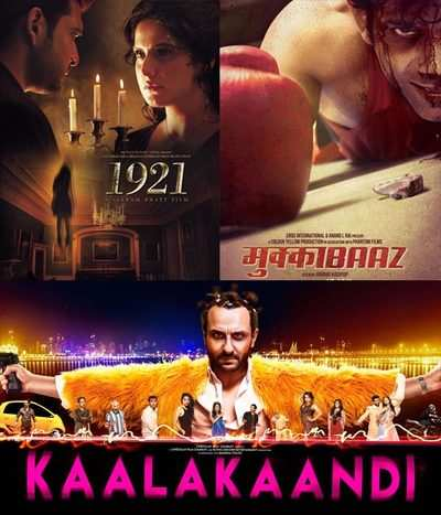 Box office collection Day 1: Kaalakaandi, Mukkabaaz, 1921 get dull start