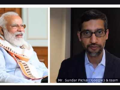PM Narendra Modi interacts with Google CEO Sundar Pichai, terms it 'fruitful'