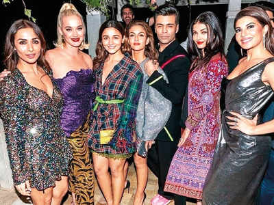 Karan Johar throws a party for Katy Perry