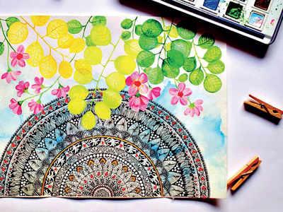 PLAN AHEAD: Try mandala art