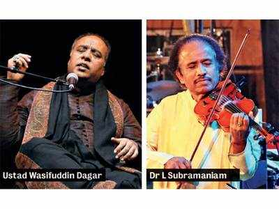 Listen to Dhrupad, tunes of the violin