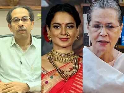 Kangana calls Uddhav Thackeray a sample of dynasty, drags Sonia Gandhi into the ongoing controversy