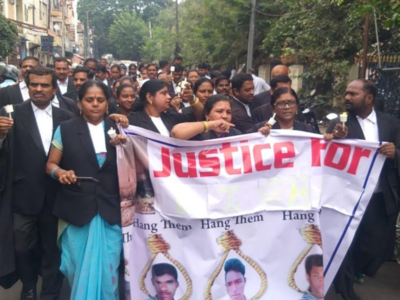 Hyderabad rape and murder case: Lawyers say punishment for rapists possible in three months