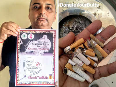 #DonateYourButts: An initiative to recycle cigarette butts launched by city NGO