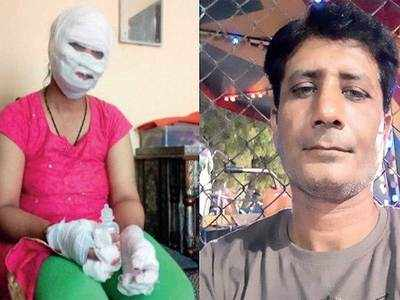 Man throws acid on ex-wife in broad daylight