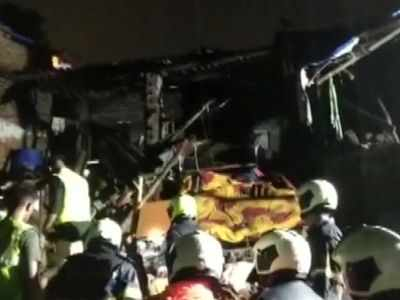 Mumbai: One dead after three houses collapse in Dahisar