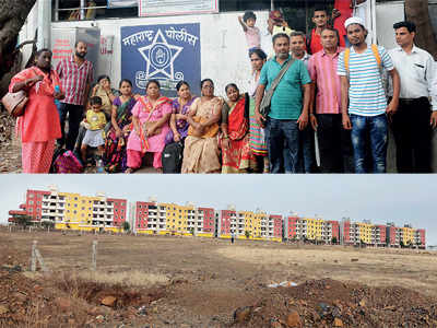 400 families stranded sans flats after payment
