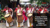 All-women Shinkarimelam troupe performs in Bengaluru