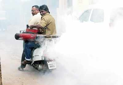 Unused commode is a dengue hotspot: BBMP health workers find it difficult to access new breeding grounds