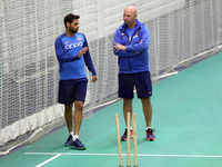 World Cup: Team India trains ahead of West Indies clash