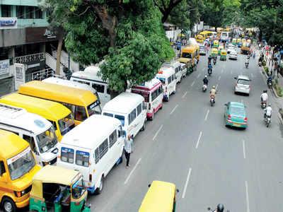 Bengaluru: Private school bus empire strikes back