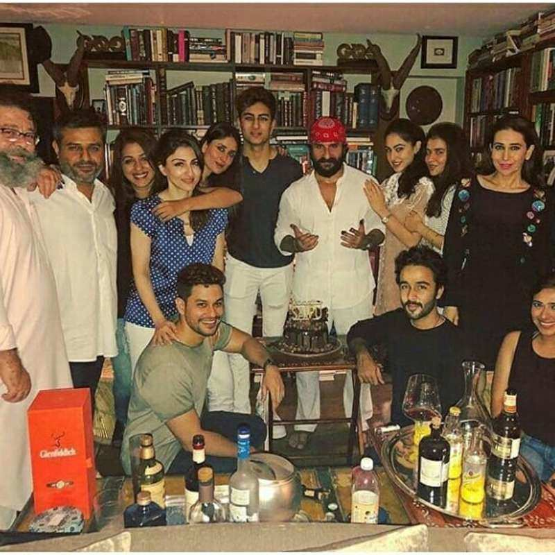 Inside Saif Ali Khan's birthday bash