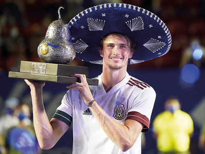 Zverev ousts Tsitsipas for title in Acapulco