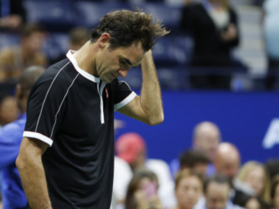 Grigor Dimitrov stuns Roger Federer to reach US Open semi-finals against Daniil Medvedev