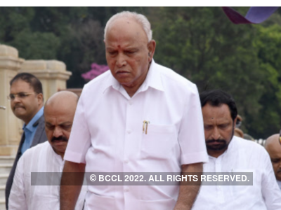 Kolhapur: Shiv Sena activists burn Karnataka CM BS Yediyurappa's effigy, stop film screening over Belgaum dispute
