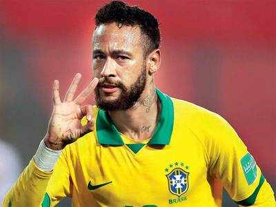 Neymar second to Pele on Brazil scoring list after his hat-trick defeats Peru