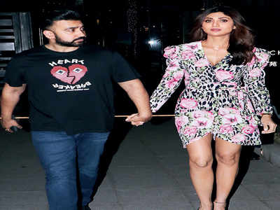 Cops record Shilpa Shetty's statement in porn case against husband Kundra