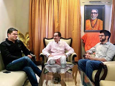 Prashant Kishor meets Shiv Sena chief Uddhav Thackeray in Mumbai